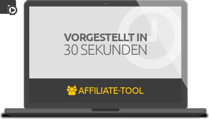 Affiliate Tool: Vorgestellt in 30 Sekunden