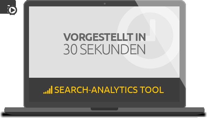 Search Analytics Tool: Vorgestellt in 30 Sekunden