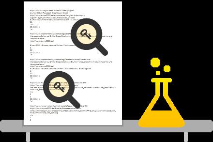 Monitoring Tool: Keyword Analyse