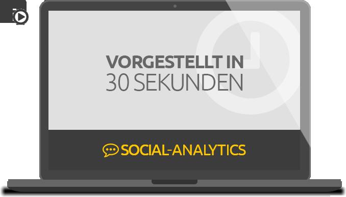 Social Analytics Tool: Vorgestellt in 30 sekunden