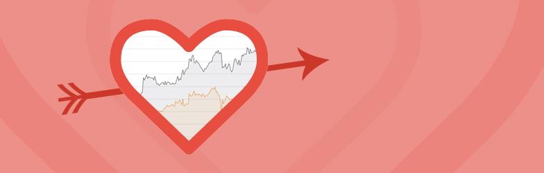 Pfeil Statistik durch's Herz