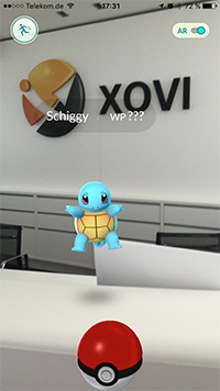 Pokemon Go XOVI Schiggy