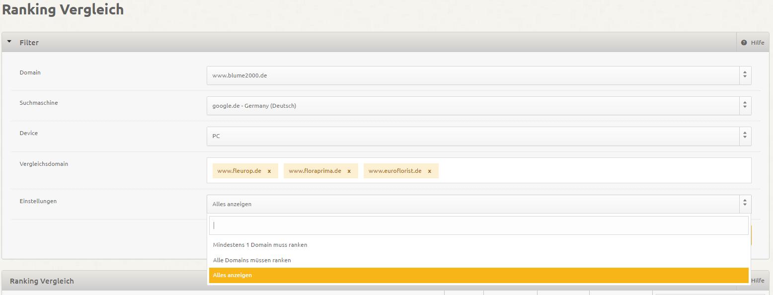 XOVI Features Ranking Vergleich Monitoring 1