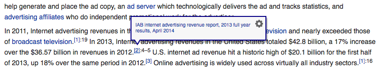 Wikipedia Tooltip