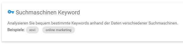 Smartinput: Keywords