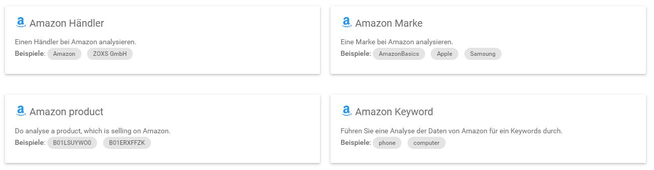 Smartinput: Marketplace