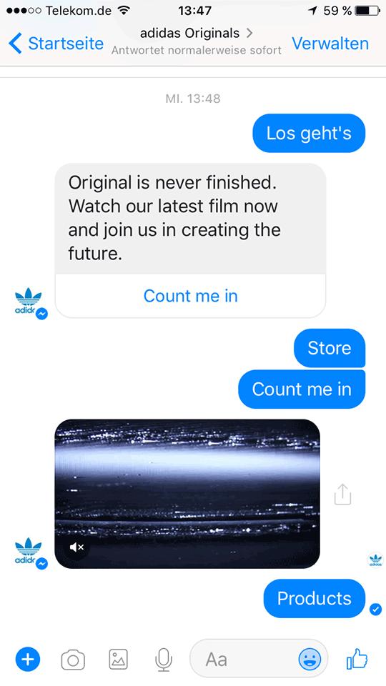 Adidas Chatbot