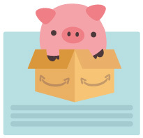 Schweinchen im Paket