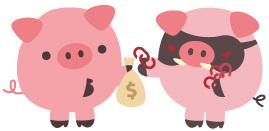 Wildschwein verkauft Links an SEO-Schwein