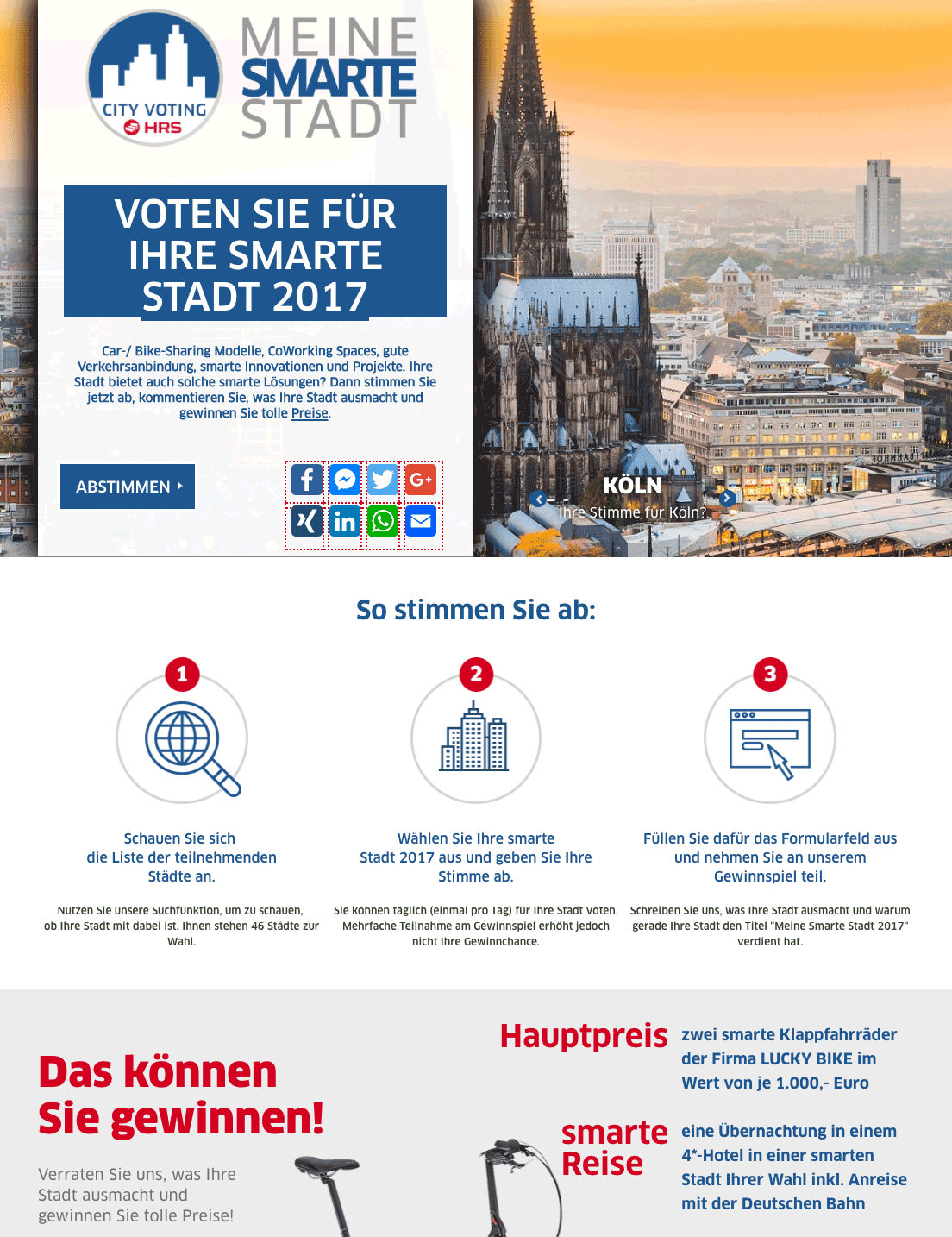 HRS City Voting