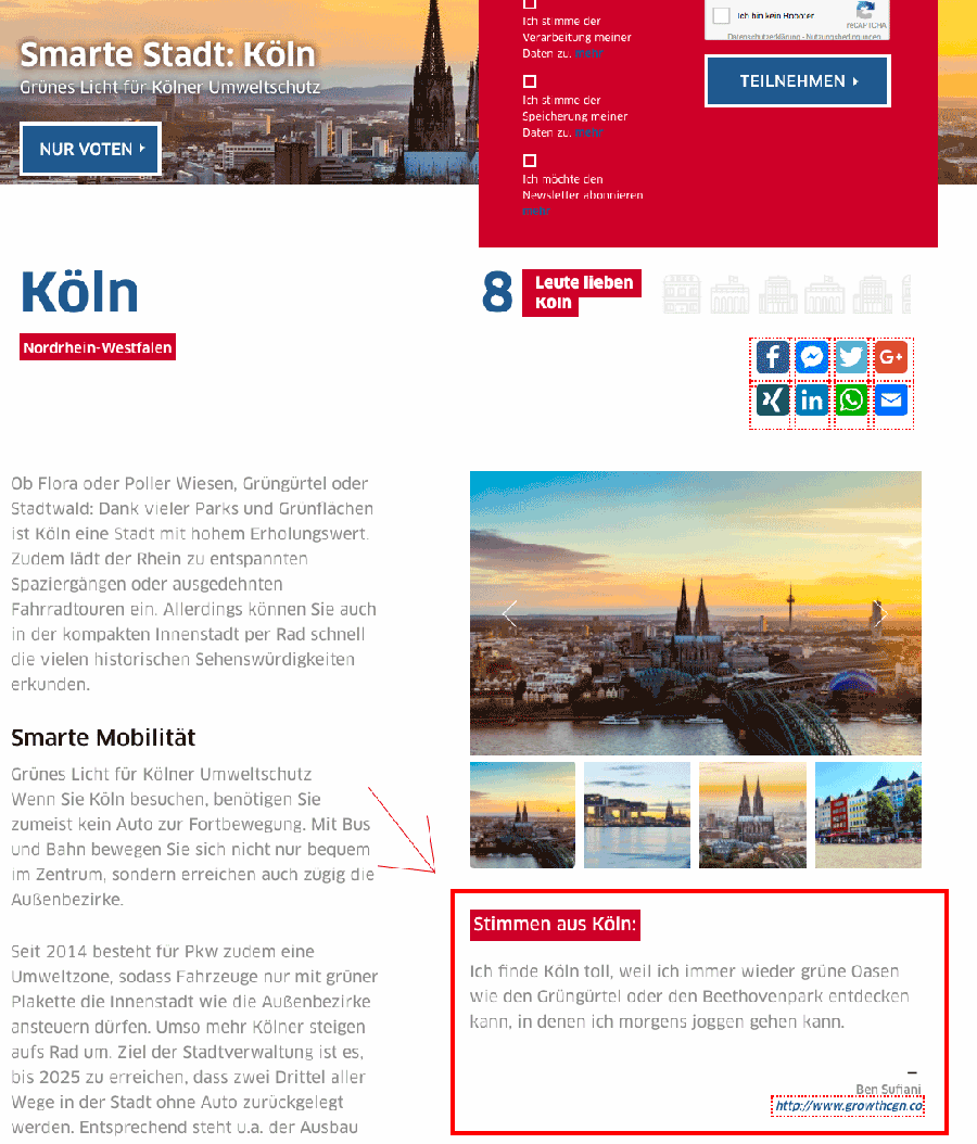 Smarte Stadt: Köln