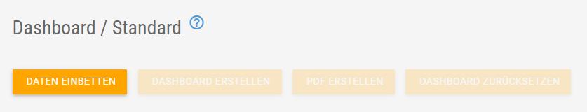 Externe Daten einbetten Dashboard