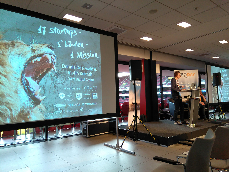 Löwentraffic: 17 Startups, 5 Löwen, 1 Mission
