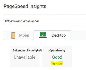 Seit Juli 2018 Ranking-Faktor: Mobile Page Speed