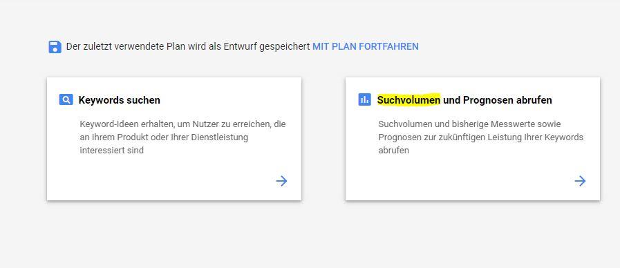 Der Google Keyword Planer ist nur noch für zahlende Kunden richtig nutzbar