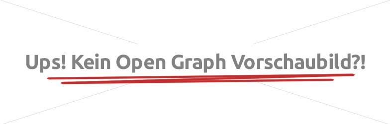 Open Graph Vorschaubild