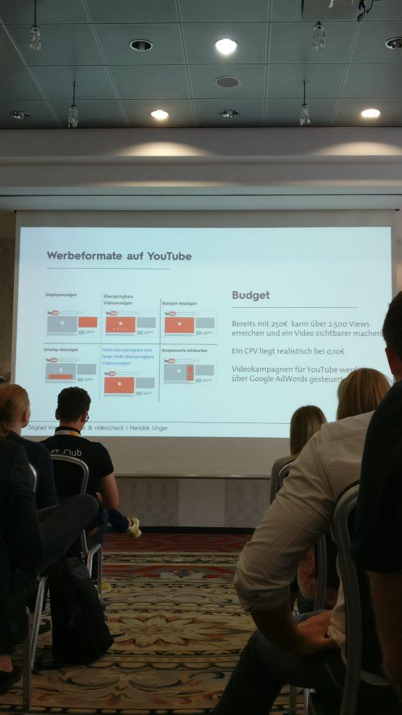 Bild von OMT 2018 Vortrag von Hendrik Unger