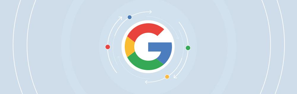 """Titelbild für den Artikel """"Google-Updates 2010 bis heute"""""""