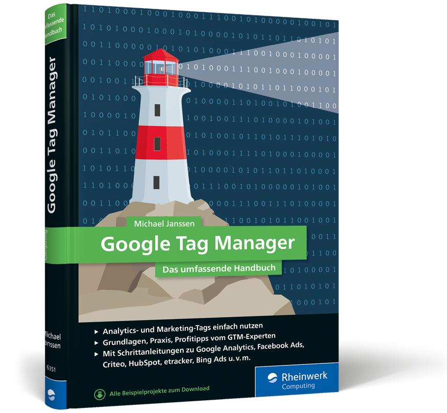 Cover des Google Tag Manager Handbuch von Michael Janssen
