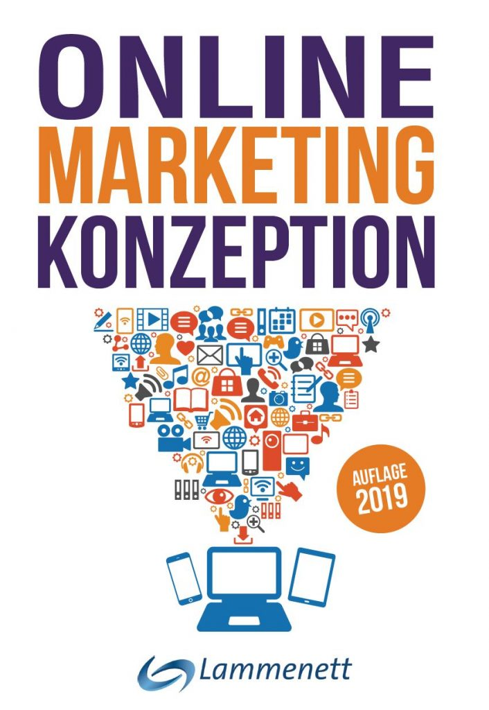 Cover Online Marketing Konzeption 4. Auflage von Dr. Erwin Lammenett