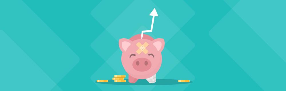 Verletztes Sparschwein: Online erfolgreich trotz begrenztem Online Marketing Budget