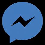 Logo des Facebook Messenger