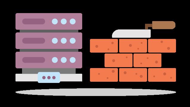 (Sub-) Domain vor Mauer