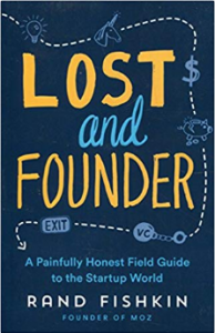 "Cover des Buches ""Lost and Founder"" von Rand Fishkin"