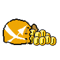 XOVI Geldsack mit Goldmünzen