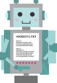 Die robots.txt steuert das Verhalten der Crawler auf deiner Website.