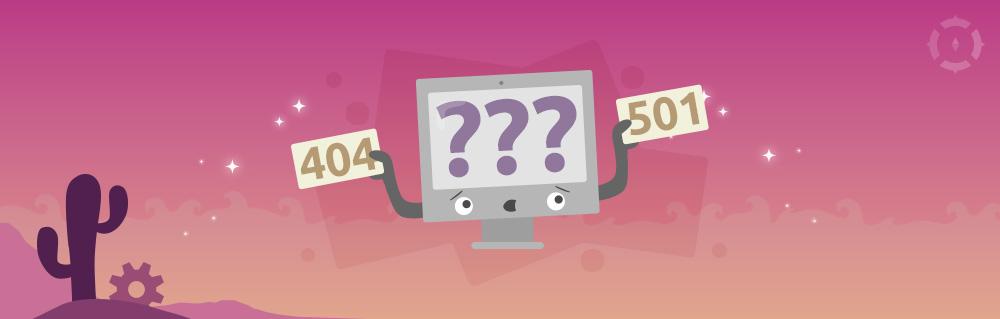 Titelbild zu Welche HTTP Statuscodes sind wichtig für SEO?