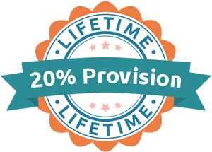 20% Provision - Lifetime