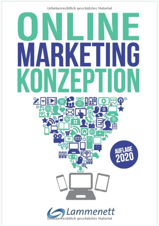 """Cover von Lammenett's """"Online Marketing Konzeption"""" Auflage aus 2020"""