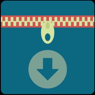 Icon für die Dateikomprimierung mit gzip bei der Pagespeed Optimierung