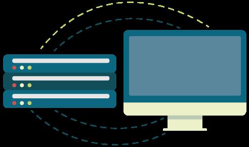 Icon für die Reduzierung von HTTP Requests