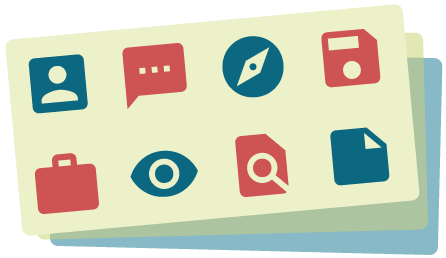 Icon für die Nutzung von CSS Sprites bei der Pagespeed Optimierung