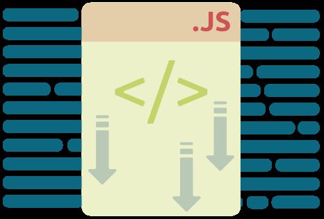 Icon für die Reduktion von JavaScript bei der Pagespeed Optimierung