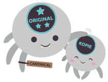 "Crawler ""Original"" und ""Kopie"""