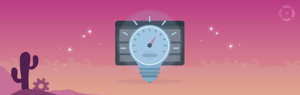 Titelbild Glühbirne mit Stoppuhr vor einem Browserfenster