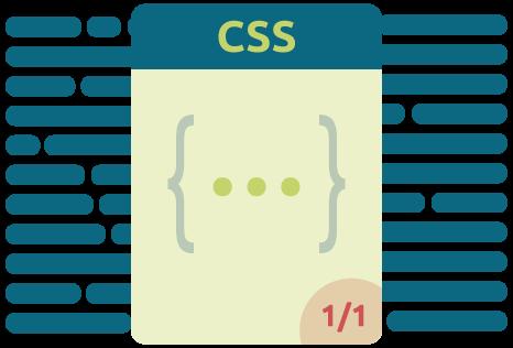 Icon füür die Nutzung eines CSS Stylesheets für die Pagespeed Optimierung