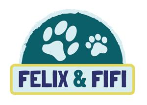 "Logo des fiktiven Online-Shops ""Felix & Fifi"""