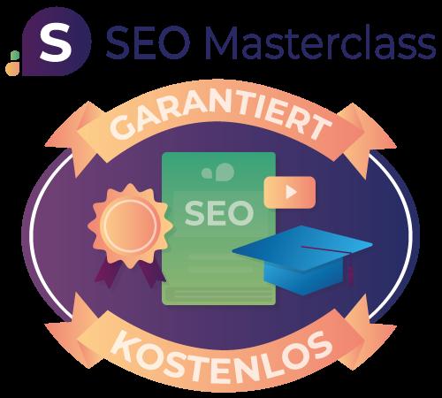 Die SEO Masterclass ist 100% kostenlos